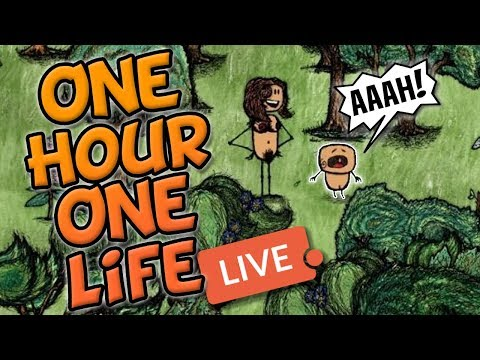One Hour One Life - LIVE! Amazing new indie game!