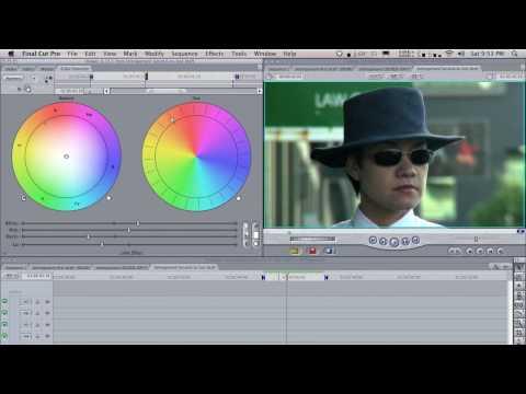 Final Cut Pro Tutorial Basic Color Correction: Correcting A Shot
