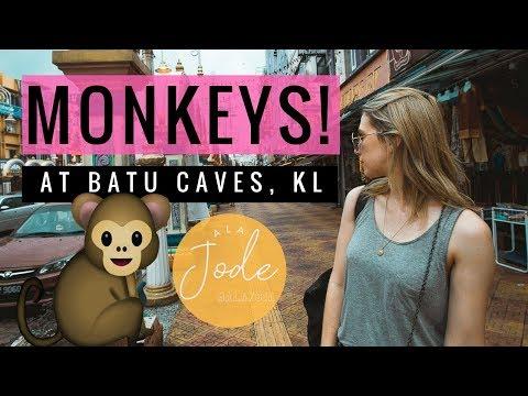 Kuala Lumpur Travel Vlog: Batu Caves, Infinity Pools + MONKEYS! | Malaysia 2018