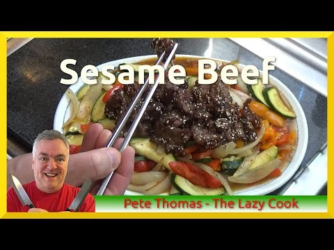 How to Cook Sesame Seed Beef
