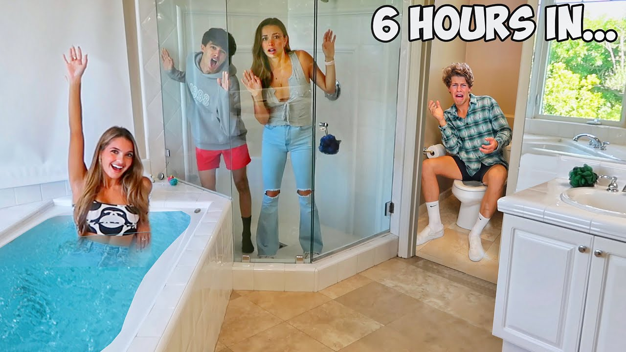 LAST TO LEAVE THE BATHROOM!!
