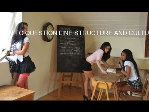 LEARN TO QUESTION LINE STRUCTURE AND CULTURE
