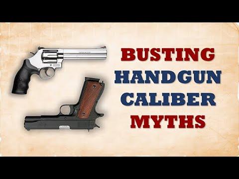 The Best Handgun Caliber - A Real World Study