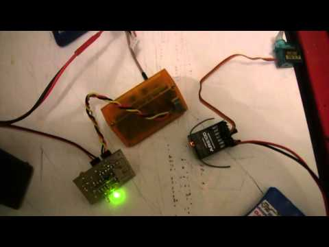 How to set up a single channel 2.4ghz transmitter, part 001!