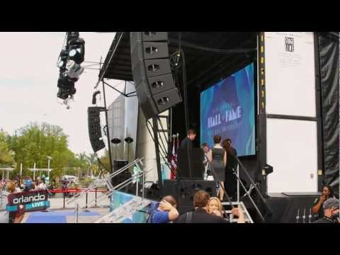 Orlando LIVE - Full Sail University Hall of Fame 2012
