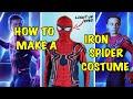 Make Your Own DIY Iron Spiderman Costume Avengers Infinity War