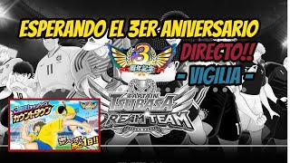 [Directo] Esperando el Aniversario! - La Vigilia!!! - Captain Tsubasa Dream Team