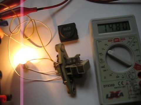 12V car alternator voltage regulator testing