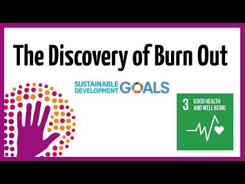 The Discovery of Burn Out