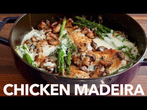 Creamy Chicken Madeira - (Cheesecake Factory Copycat Recipe)