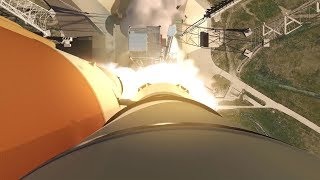 Space Launch System EM-1: Launch Animation   Video