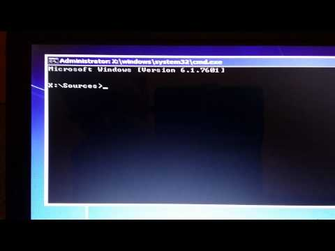 How to change GPT to MBR during windows 7 installation