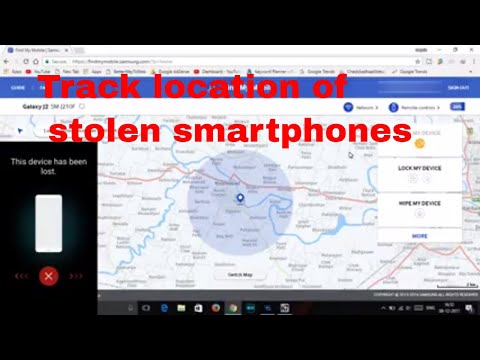 How To Track Location Of Samsung Smartphone And Ring|Wipe Data|Lock And Etc