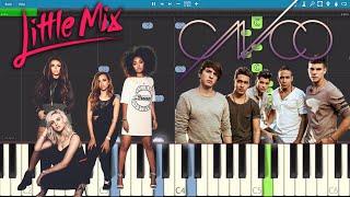 Reggaeton Lento - Piano Tutorial - CNCO & Little Mix - How To Play / Como Tocar