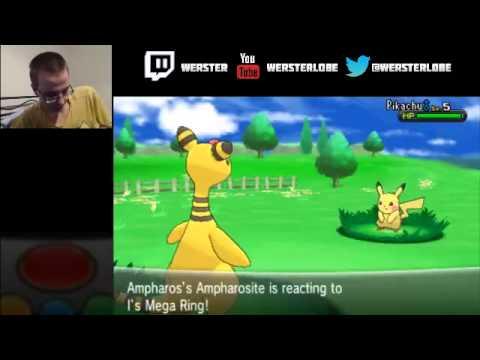Pokemon X/Y Mega Ampharos Mega-evolution