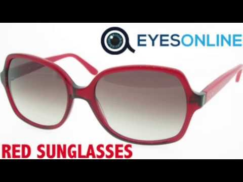 Red Sunglasses Collection - EYESONLINE