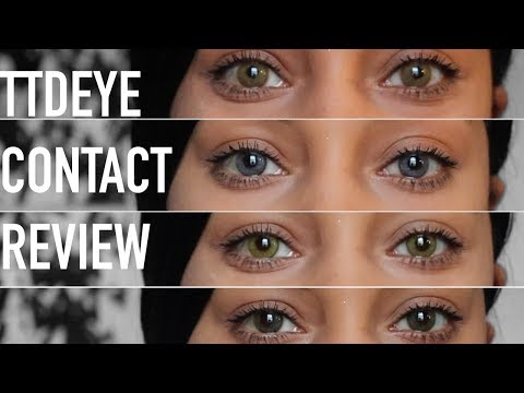 TTD EYE CONTACTS TRY-ON || ARIANA.AVA