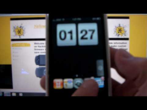 iPhone 6-day Animated Weather Widget lockscreen (Update)