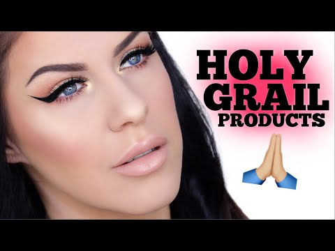 FULL FACE OF CURRENT HOLY GRAIL PRODUCTS!! | MY FAVORITE MAKEUP!!