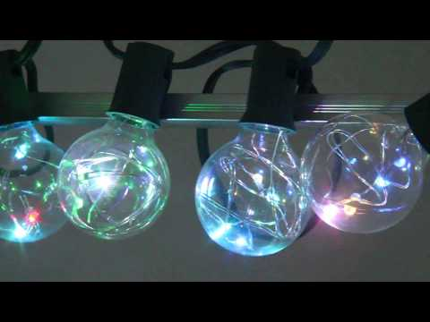 G40 Copper wire LED String Light