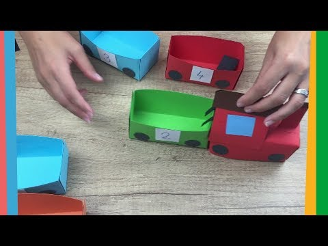 Paper train craft for kids | Easy to make for everyone