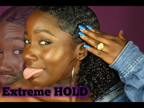 BEST GELS/EDGE CONTROLS TO SLICK DOWN THICK NATURAL HAIR