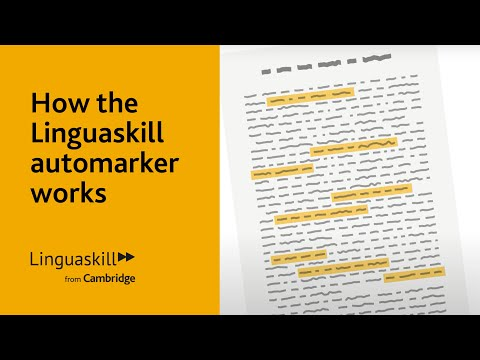 How the Linguaskill automarker works