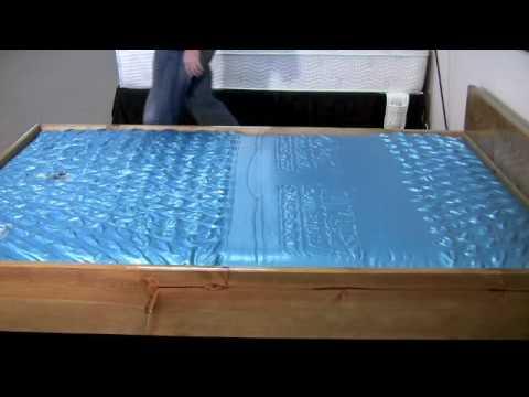 Waterbed Mattress LS 7127 Wave Test