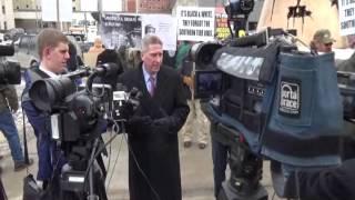 Landowners, Organized Labor Protest Gov Cuomo
