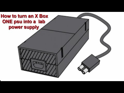 Xbox One Bench Power Supply (How To Build a Cheap Lab PSU)