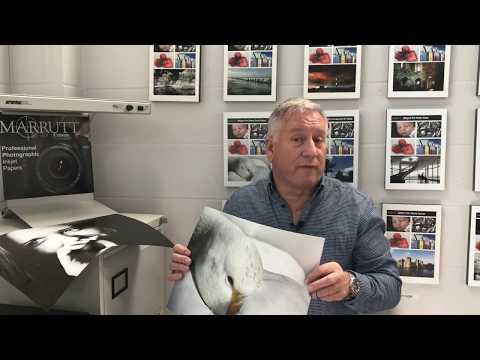 Marrutt 265gsm Pro Photo Satin/Oyster Inkjet Paper