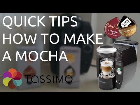 Quick Tips - How to make a Mocha using a Tassimo Machine