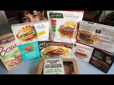 Veggie Burger Taste Test // Vegan