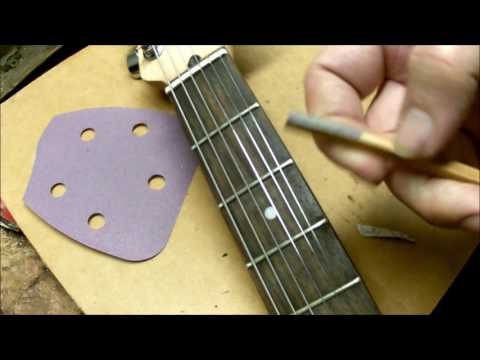 Smooth your guitar fret ends easier, faster and better than a PRO!