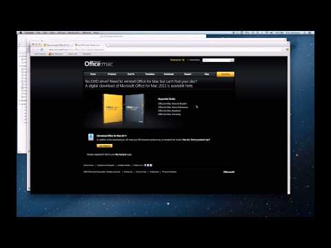 How to Install Microsoft Office Mac 2011 on a MacBook Air