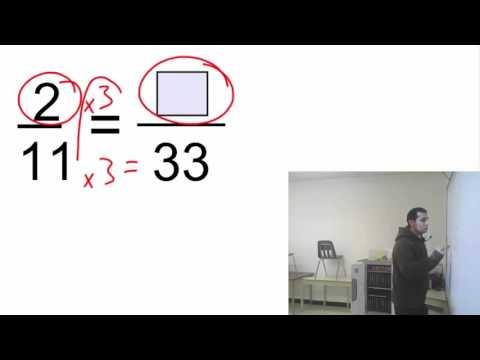 Fraction missing number