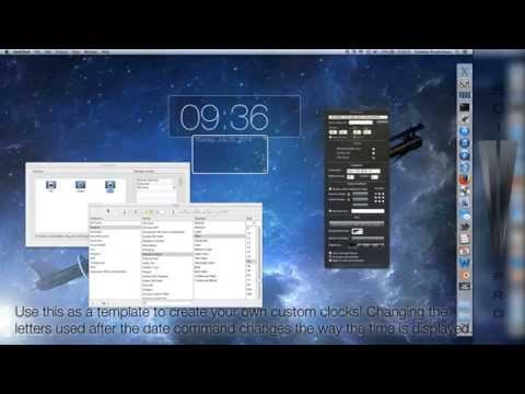 How to Put an iOS 7 Clock on Your Mac Desktop