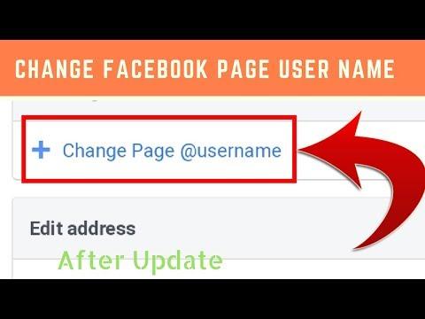 How to create or change Facebook Page Username/URL in Hindi/Urdu 2018/2019