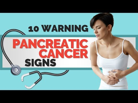 10 Early Warning Signs of Pancreatic Cancer Don't Ignore These
