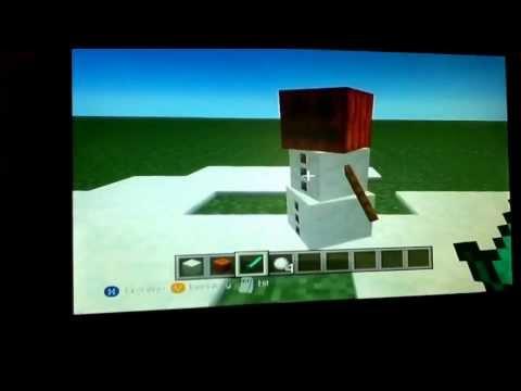 How to create a snow golem!