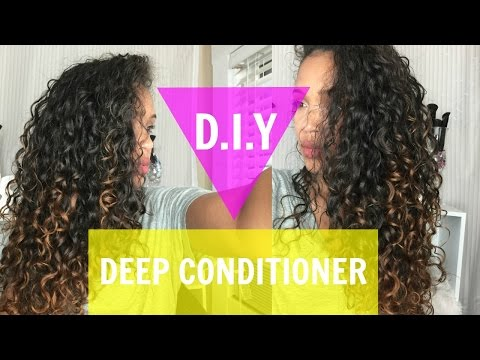 DIY DEEP CONDITIONER ROUTINE FOR NATURALLY CURLY HAIR
