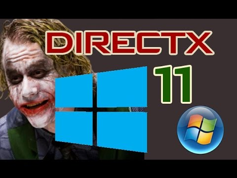 Descargar directx 11 (Microsoft) para windows xp/Vista/7/8 y 10 2018