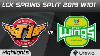 Download SKT vs JAG Highlights Game 1 LCK Spring 2019 W1D1 SK Telecom T1 vs Jin Air GreenWings by Onivia Video