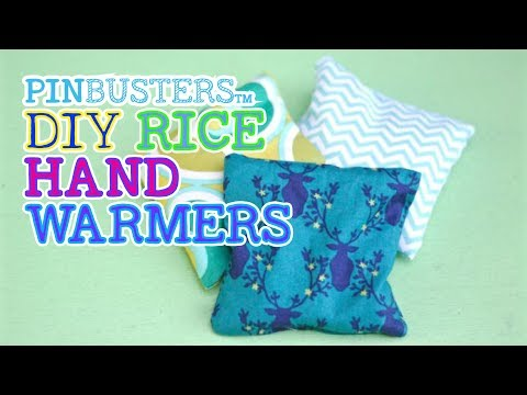 DIY Rice Hand Warmers // DO THESE REALLY WORK?