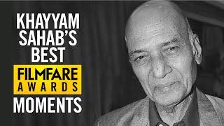 Khayyam Sahab's Award Winning Speech | Filmfare Awards | Life Time Achievement Award | Throwback