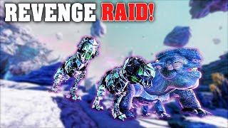 Revenge Grifing Teamers! | Ark Genesis Small Tribes PVP E49