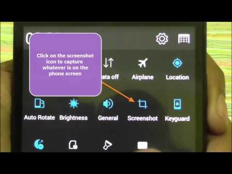 How to take screenshot on Lenovo A6000