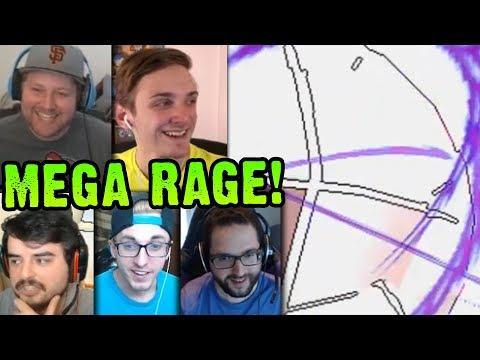 MEGA EVOLUTION + GYM RAGE!? | Cutthroat Pokemon X and Y 5-Player Nuzlocke Versus | #8