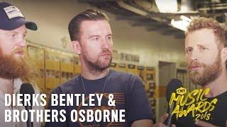 2018 CMT Music Awards   Dierks Bentley & Brothers Osborne Rehearsals
