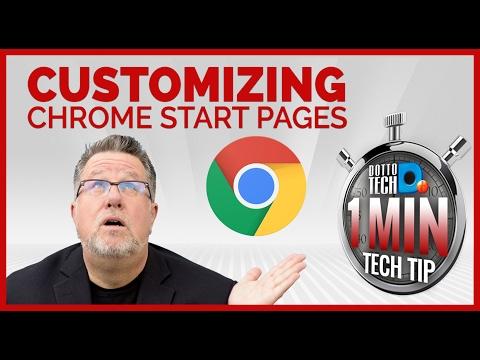 Chrome Basics - Customizing Your Start Page - OMTT 9
